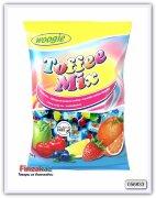 Ассорти жевательных конфет с фруктовым вкусом Woogie Chewy toffee mix 250 гр