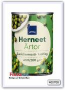Зеленый горошек Rainbow Herneet suolaliemessa 400/280 гр