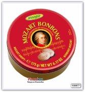 Карамель леденцовая со вкусом нуги, с начинкой со вкусом фисташек Mozart Woogie 175 гр