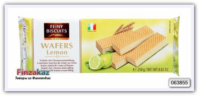 Вафли в лимонно-кремовой начинкой Feiny Biscuits 250 гр
