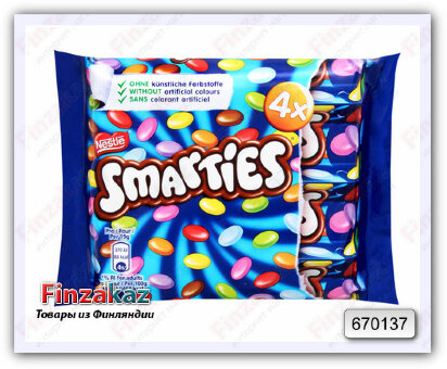 """Дражже Nestle """"Smarties """" 152 гр"""