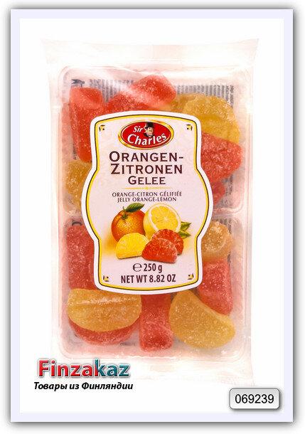 "Мармелад со вкусом лимона и апельсина ""Sir Charles"" 200 гр"