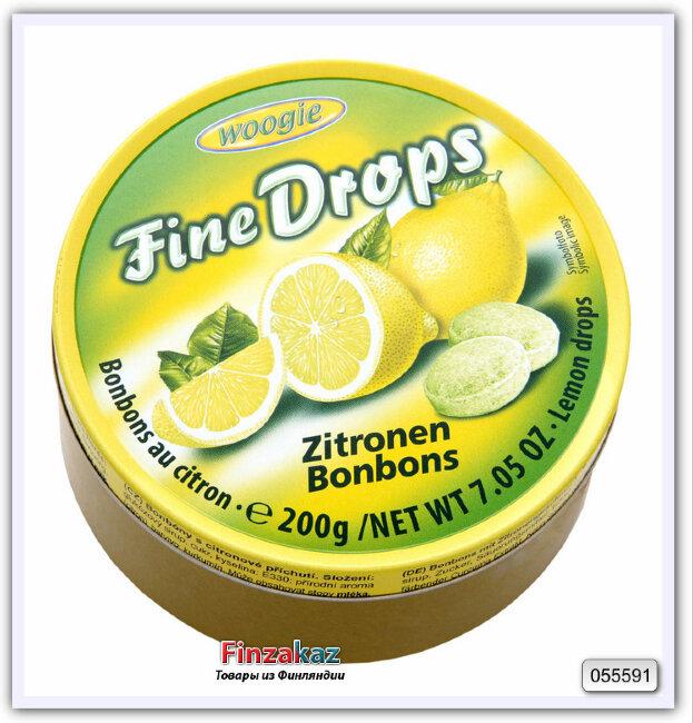 Карамель леденцовая со вкусом лимона Woogie 200 гр