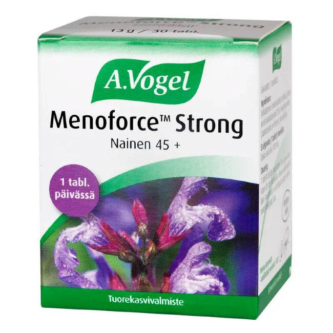 Таблетки для облегчения симптомов менопаузы 45+ A.Vogel Menoforce Strong 30 таб