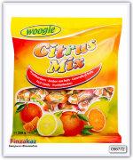 Карамель леденцовая Woogie с начинкой со вкусом лимона, апельсина и мандарина  250 гр