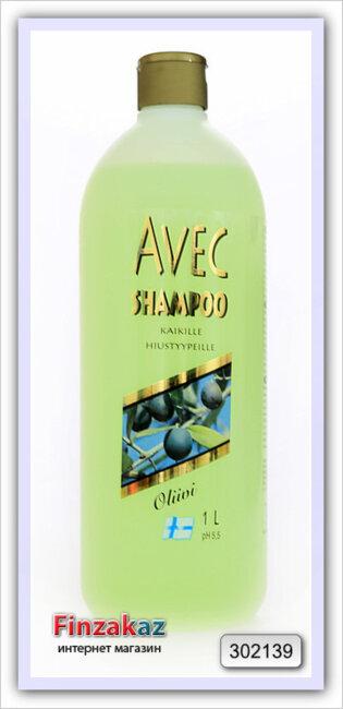Шампунь Avec (оливковый) 1 л