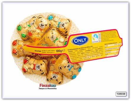 Конфеты шоколадные ONLY (Мишки) 100 гр