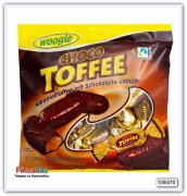 Конфеты Woogie Toffee-caramel with chocolate 250 гр