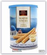 Вафельные трубочки с начинкой с ванильным вкусом Feiny Bisuits 400гр