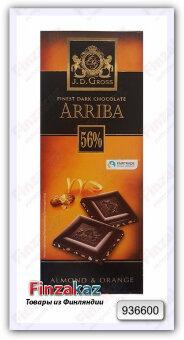 Шоколад J.D.Gross (апельсин) 125 гр