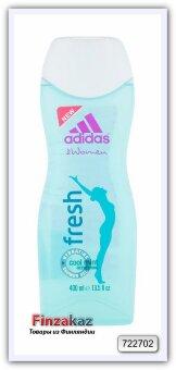 Гель для душа Adidas Fresh для женщин 400 мл