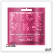 Отшелушивающая маска для лица сужающая поры Marion Neon Vibes Pore Minimizing Peel-off Mask 8 г