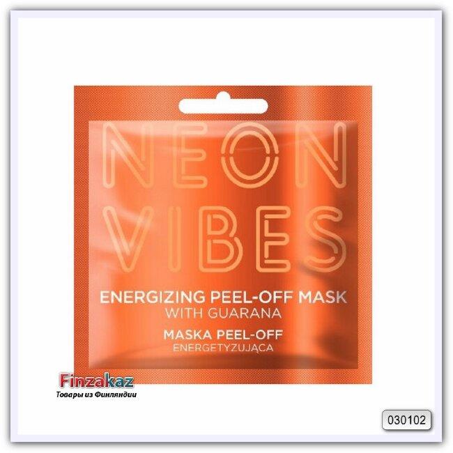 Энергетическая отшелушивающая маска для лица Marion Neon Vibes Energizing Peel-Off Mask 8 гр