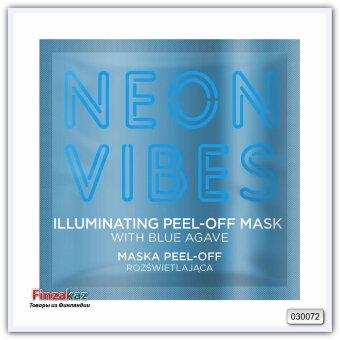 Отшелушивающая маска для лица Marion Neon Vibes Illuminating Peel-Off Mask 8 гр