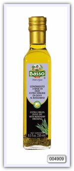 Масло Basso оливковое нерафинированное высшего качества, ароматизированное (розмарин) 250 мл