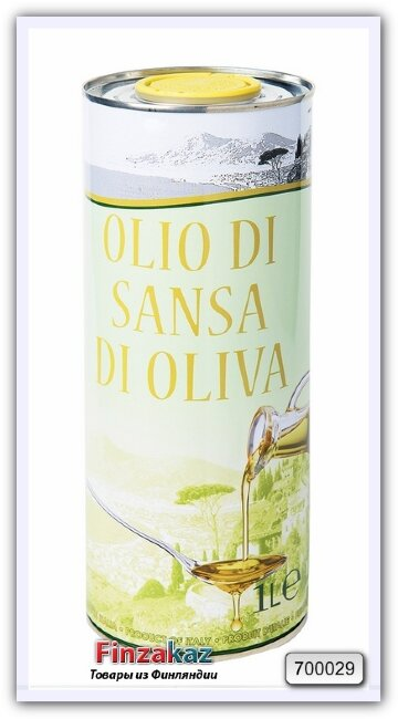 Оливковое масло для жарки Vesuvio Olio di sansa di oliva 1л ( Италия )