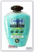 Соль для ванночки для ног Online Juniper & Lemongrass 600 гр