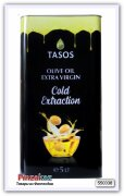 Масло оливковое Extra Virgin Olive Oil Gold TASOS 5 л