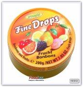 Карамель леденцовая со вкусом фруктов Woogie (Ассорти) 200 гр