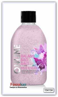 Соль для ванн Online Balans kylpysuola Mild&Soft 600 гр