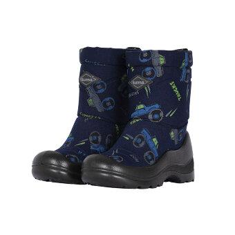 Валенки детские KUOMA Lumi Sininen Monsteri / Blue Monster