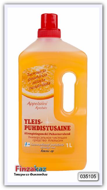 Универсальное чистящее средство Foxtel yleis puhdistusaine (апельсин) 1 л
