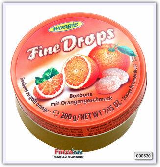 Карамель леденцовая со вкусом апельсина Woogie 200 гр