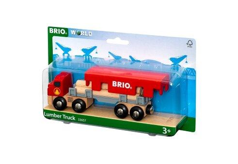 Грузовик для перевозки брёвен с грузом BRIO