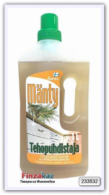 Универсальное чистящее средство для всех поверхностей FoxtelTehopuhdistaja mänty (сосна) 1 л