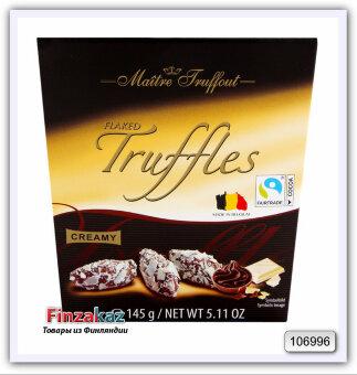 "Трюфели ""Maitre Truffles pralines with white chocolate flakes"" 145 гр"