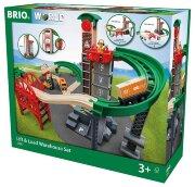 """Игровой набор """"Ж/д Логистическая станция с лифтом"""" BRIO"""