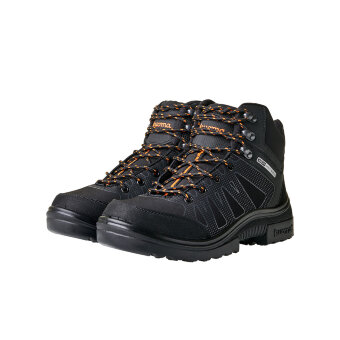 Черные ботинки мужские зимние с мембраной Kuoma Kari softshell