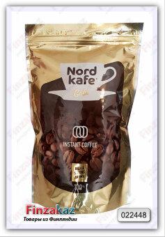 Кофе растворимый Nord Kafe Gold 200гр