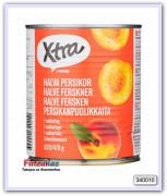 Половинки персика в сахарном сиропе 820/470 гр