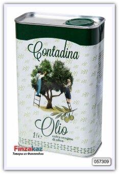 Натуральное оливковое масло Vesuvio Contadina Olio Extra Vergine Di Oliva 1л ( Италия )