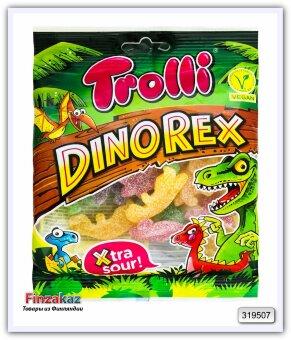 "Trolli мармелад жевательный ""Динозавры"" суперкислый Dino Rex 100 гр"