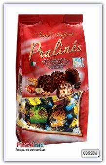 Ассорти конфет из молочного шоколада с кремовыми начинками и хлопьями Assorted pralines 300 гр