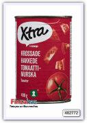 Рубленые томаты в собственном соку X-tra Tomaattimurska 400 гр