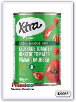 Органически измельченные томаты X-tra luomu tomaattimurska 400 гр