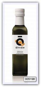 Масло оливковое нерафинированное высшего качества Olvion, с добавлением экстракта апельсина 250 мл
