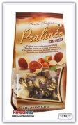 Конфеты из молочного и белого шоколада с ореховой начинкой Maitre Truffout  Pralinen Hazelnut 240 гр