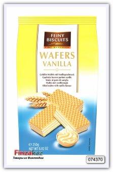 Вафли с начинкой из ванильного крема Wafer with vanilla cream filling 250 гр
