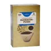 Фильтра для кофеварок Eldorado 1x4 coffee filter unbleached 100 шт